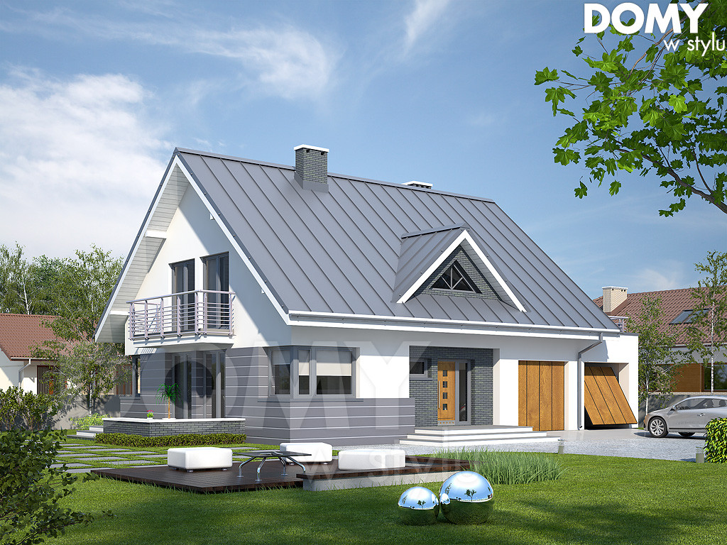 projekty domów dużych